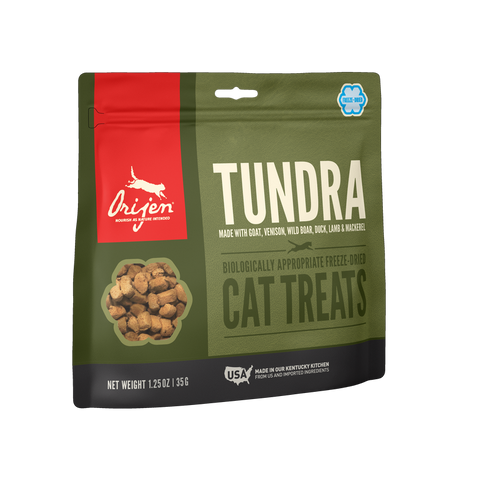 Orijen ™ Tundra Biologically Appropriate Freeze-Dried Cat Treats