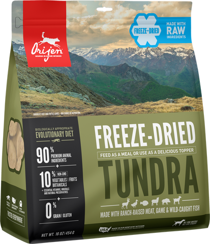 Orijen ™  Tundra Freeze Dried Dog Food