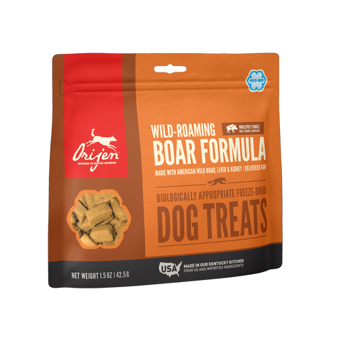 Orijen ™  Wild Roaming Boar Biologically Appropriate Single-Source Freeze-Dried Dog Treats