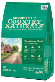 Grandma Mae's Country Naturals Premium All Natural Pork Farmhouse Blend Dry Dog Food
