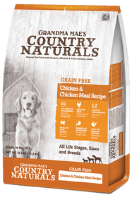 Grandma Mae's Country Naturals Grain Free Chicken & Chicken Meal Dry Dog Food
