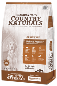 Grandma Mae's Grain Free Dakota Frontier Buffalo Dry Dog Food