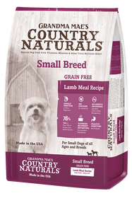 Grandma Mae's Lamb Meal Small Breed Dry Dog Food