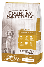 Grandma Mae's Country Naturals Grain Free Limited Ingredient Diet Turkey Dry Dog Food