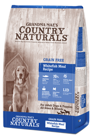 Grandma Mae's Country Naturals Grain Free Whitefish Dry Dog Food