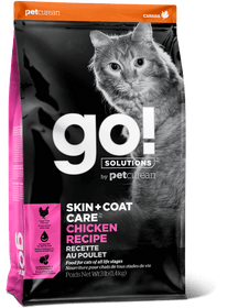 Petcurean Go! Skin & Coat Care Chicken Recipe Cat Food