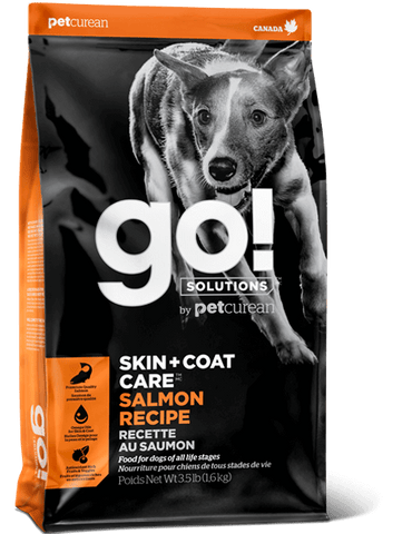 Petcurean GO! Solutions SKIN + COAT Care SALMON Recipe Dog Food