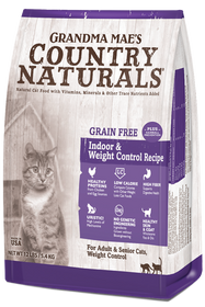 Grandma Mae's Grain Free Indoor & Weight Control Dry Cat Food