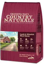 Grandma Mae's Lamb & Whitefish Meal Dry Dog Food