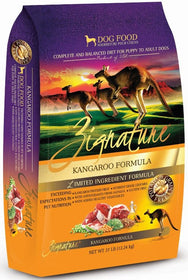 Zignature Limited Ingredient Diet Kangaroo Formula Dry Dog Food