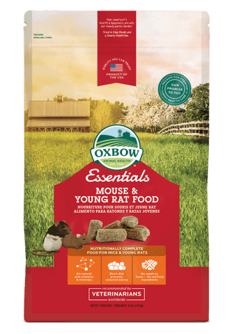 Oxbow Essentials - Mouse/Young Rat Food Block