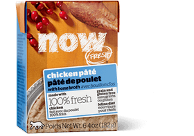 Petcurean NOW FRESH™ Chicken Pâté with bone broth Wet Cat Food