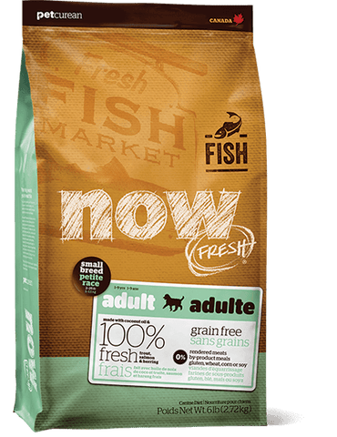 Petcurean NOW FRESH™ Grain Free Small Breed Fish Adult Dog Food