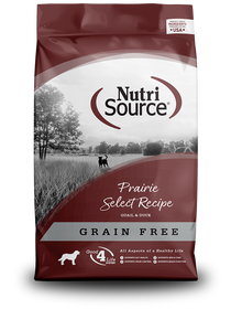 Tuffy's Nutri Source Prairie Select Grain Free Dog Food