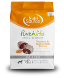 Tuffy's Pure Vita Grain Free Venison & Red Lentils NutriSource Dog Food