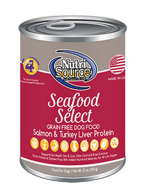 Tuffy's Nutri Source Grain Free Seafood Select Canned Wet Dog Food