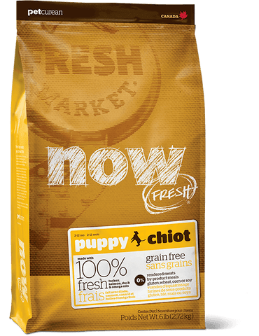 Petcurean NOW Fresh Grain Free Puppy Dry Food