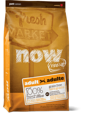 Petcurean NOW Fresh Grain Free Adult Dog Food