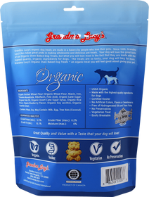 Grandma Lucy's® Organic Oven Baked Blueberry Recipe Dog Treats
