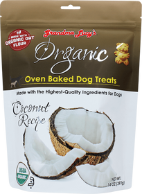 Grandma Lucy's® Organic Oven Baked Coconut Recipe Dog Treats