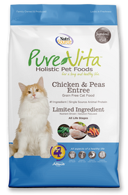 Tuffy's Pure Vita Grain Free Chicken/Pea Cat Food