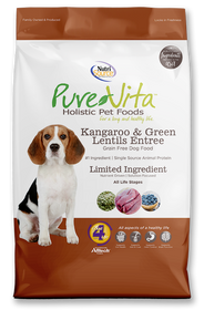 Tuffy's Pure Vita Kangaroo and Green Lentils Dog Food