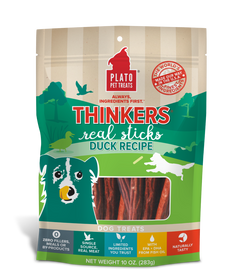 Plato Thinkers Duck Meat Stick Dog Treats