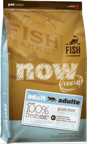Petcurean NOW FRESH™ Grain Free Fish Recipe Adult Cat Food