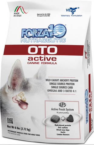 FORZA10 Nutraceutic Active Line OTO Support Diet Anchovy Dry Dog Food