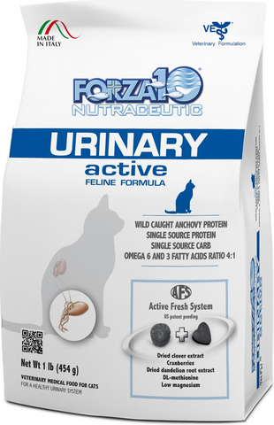 FORZA10 Nutraceutic Active Urinary Anchovy Dry Cat Food