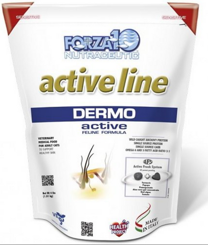 FORZA10 Nutraceutic Active Line Dermo Anchovy Dry Cat Food