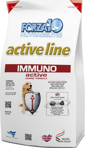 FORZA10  Nutraceutic Active Line Immuno Support Diet Anchovy Dry Dog Food