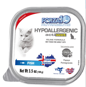 FORZA10 Nutraceutic Actiwet Hypoallergenic Icelandic Fish Recipe Canned Cat Food