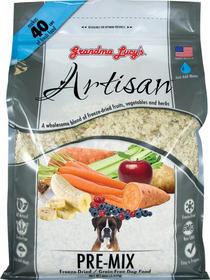 Grandma Lucy's® Artisan™ Freeze Dried Grain Free Pre-Mix Recipe Dog Food