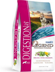 FORZA10 Nutraceutic Legend Digestion Wild Caught Anchovy Grain-Free Dry Dog Food