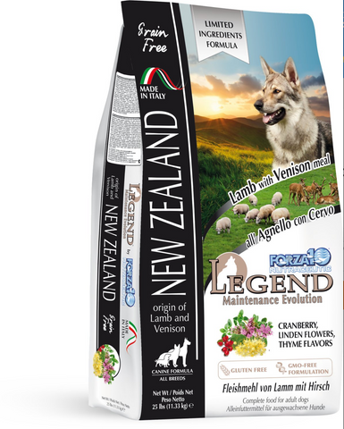 FORZA10 Legend New Zealand Lamb & Venison Dog Food