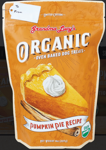 Grandma Lucy's Oven-Baked Organic Pumpkin Pie Dog treats