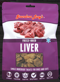 Grandma Lucy's® Freeze Dried Liver Single Ingredient Cat & Dog Treat