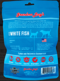 Grandma Lucy's® Freeze Dried Ocean Whitefish Single Ingredient Cat & Dog Treat