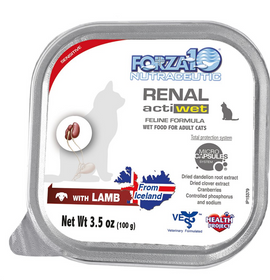 FORZA10 Nutraceutic Actiwet Renal Support Lamb Wet Cat Food