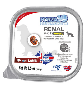 FORZA10 Nutraceutic Actiwet Renal Support Canned Dog Food