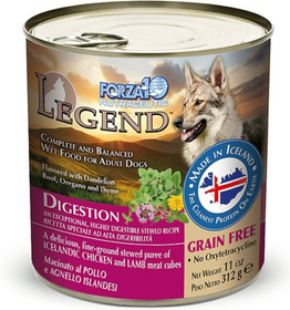FORZA10 Nutraceutic Legend Digestion Icelandic Chicken & Lamb Recipe Grain-Free Canned Dog Food