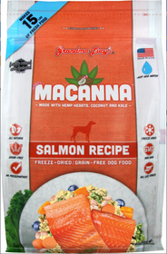 Grandma Lucy's® Macanna™ Freeze Dried Grain Free Salmon Recipe Dog Food
