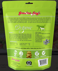 Grandma Lucy's® Organic Oven Baked Apple Recipe Dog Treats