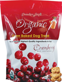 Grandma Lucy's® Organic Oven Baked Cranberry Recipe Dog Treats