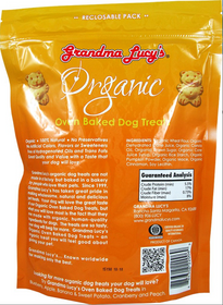 Grandma Lucy's® Organic Oven Baked Pumpkin Recipe Dog Treats