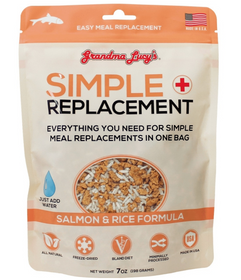 Grandma Lucy's® Simple Replacement Salmon & Rice Formula Cat and Dog Supplement