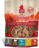 Plato Real Strips Turkey With Cranberry Meat Bar Dog Treats