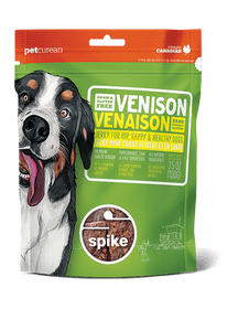 Petcurean SPIKE™ Grain Free Venison Jerky for Dogs