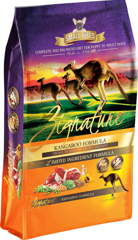 Zignature Limited Ingredient Diet Kangaroo Formula Small Bites Dry Dog Food